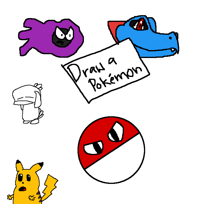 Draw A Pokemon