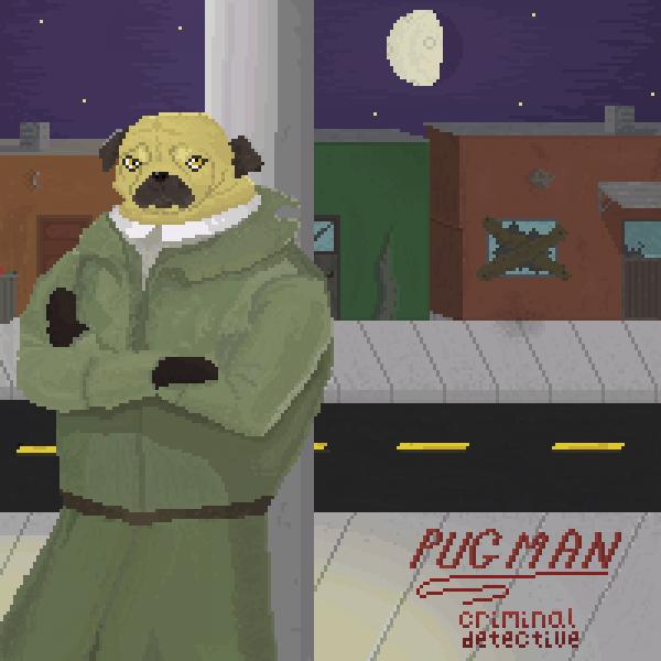 Pugman - the Criminal Detective