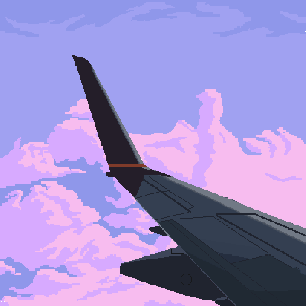 The wing wasn't traced, I had trouble with the clouds