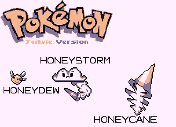 Pokemon Jahwie Version - Honeydew (Starter Pokemon)
