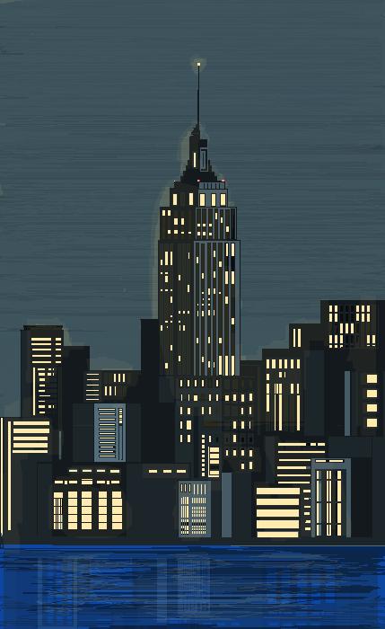 **A NIGHT city**
