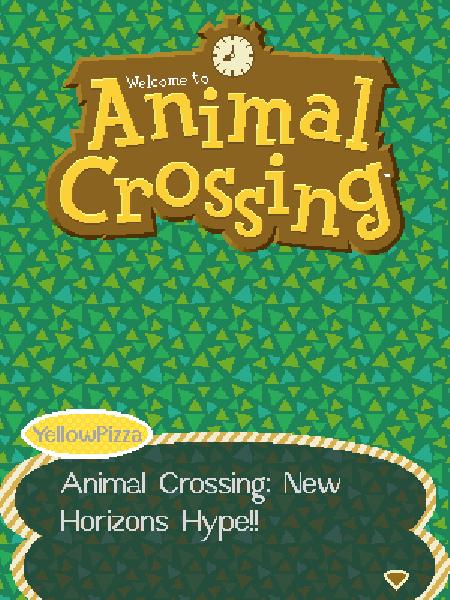 Animal Crossing: New Horizons Hype!!
