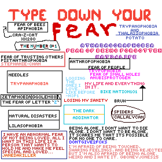 whats your fear