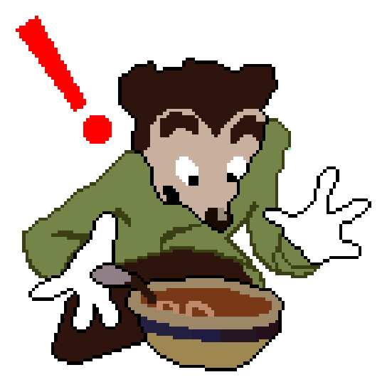 SOMEBODY TOUCHA MY SPAGHET!!! (without background)