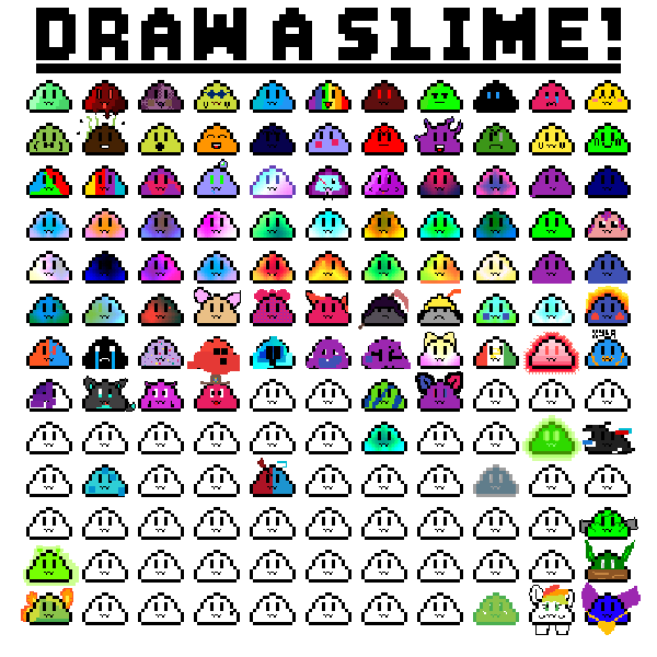 Color a slime