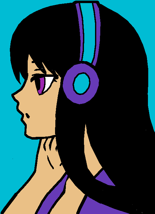 put my headphones on