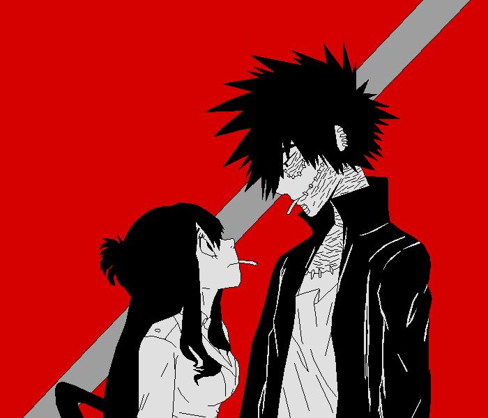 Dabi and Tsuyu
