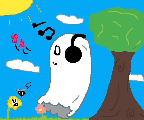 napstablook and flowey if the monsters were not forced