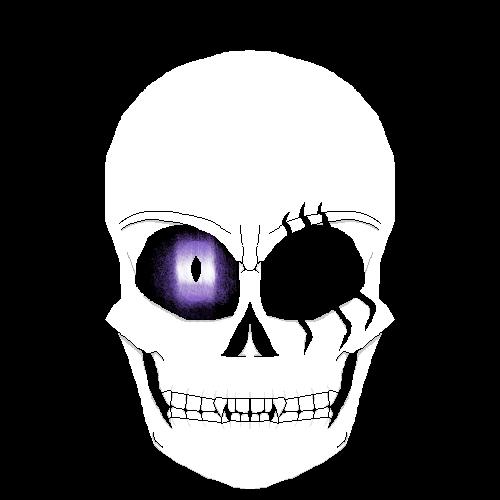 Purple eye Cinzel