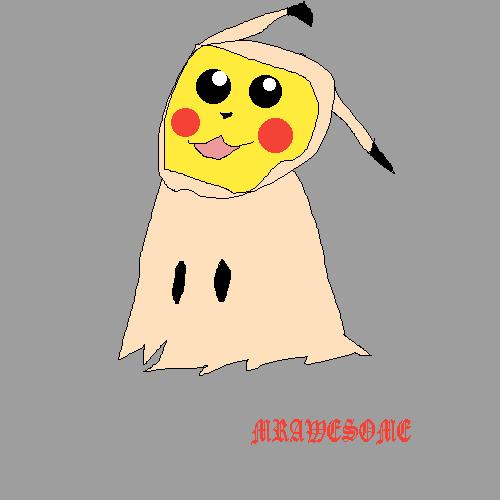 Pikachu (Mimikyu Costume) 1
