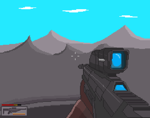 First person shooter (Almost Finished)