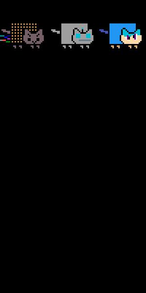 Make a Nyan cat