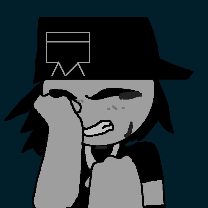 Crying black tears