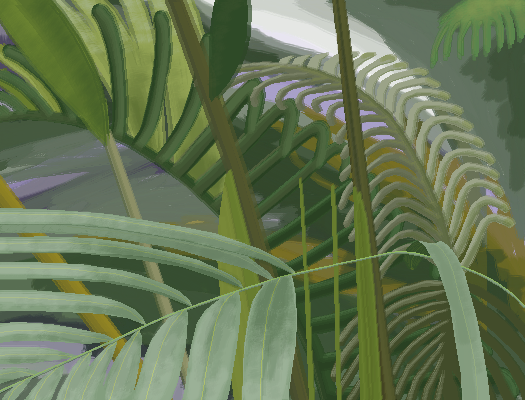 Tropical Background Collab with @Tibipad