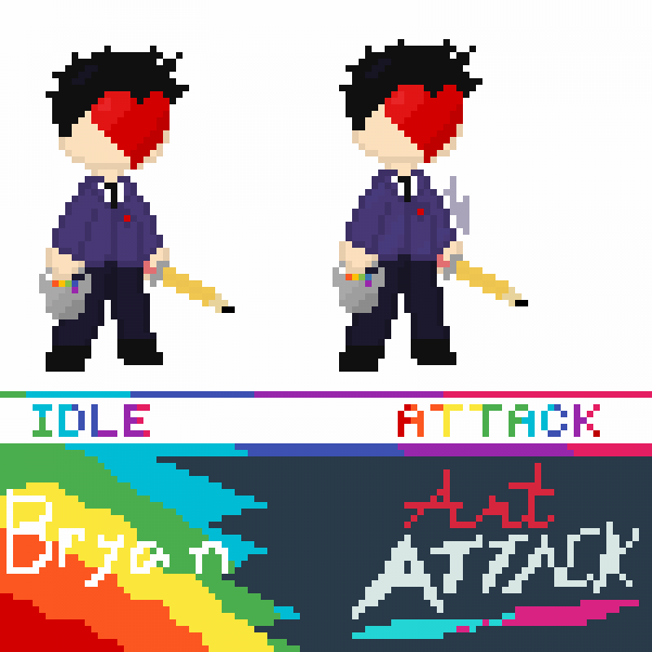 Bryan Art Attack Sprite ( Official i guess )