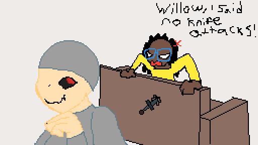 NO KNIFE ATTACKS