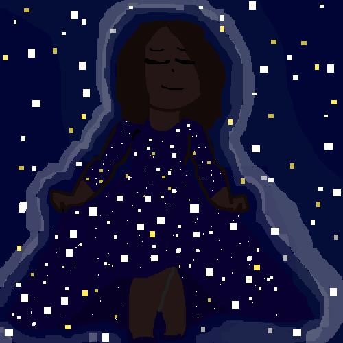 Space like dress