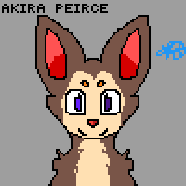 My new fursona: Akira!