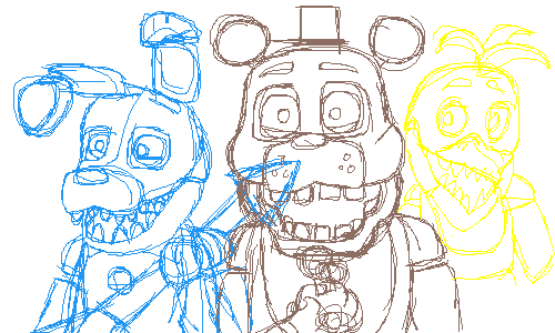 one of my better fnaf sketches
