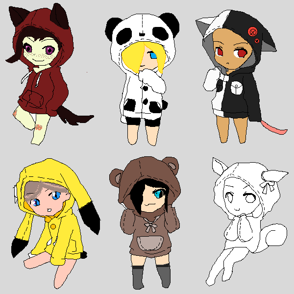 Animal Chibi's