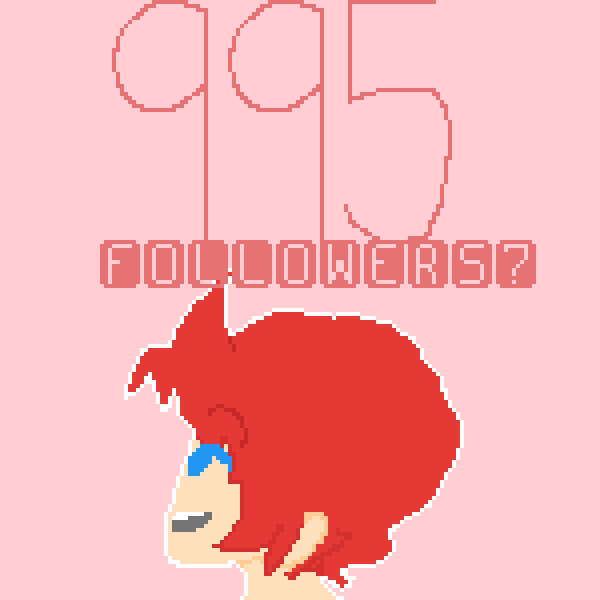 995 followers!?