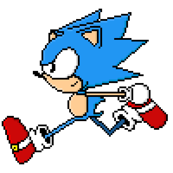 Toei Sonic Running
