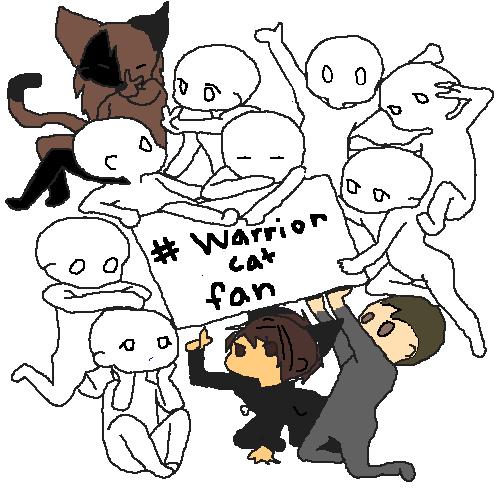 warrior cats lovers