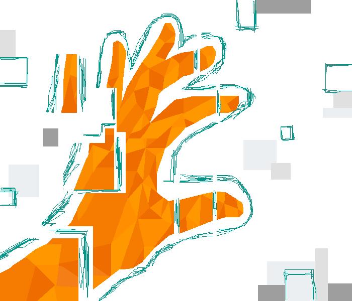 hand glitch