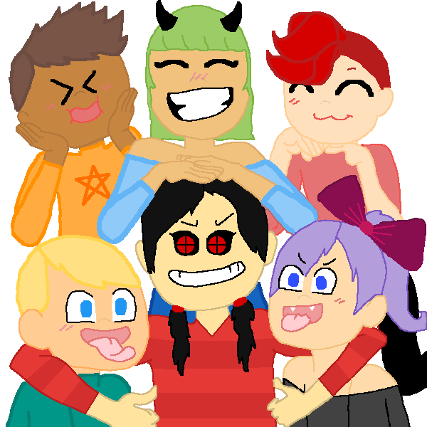 all my ocs and alex