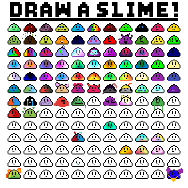 Draw a slime!
