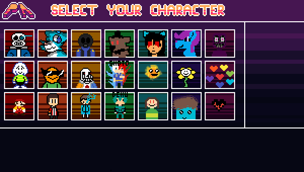 Full roster Super Pixil Bros