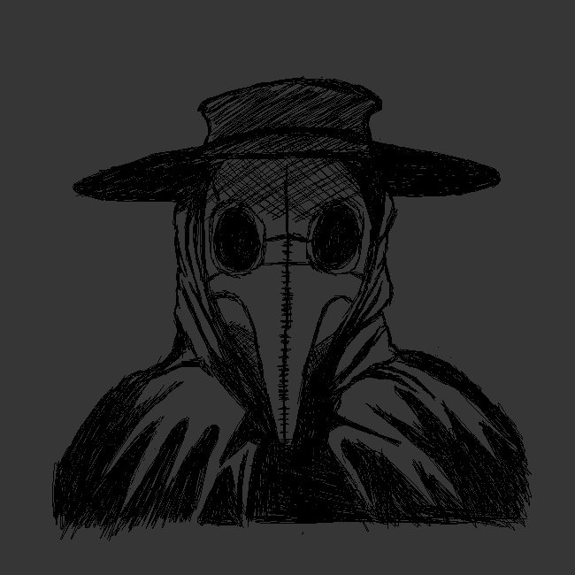 Another Plague Doctor Sketch