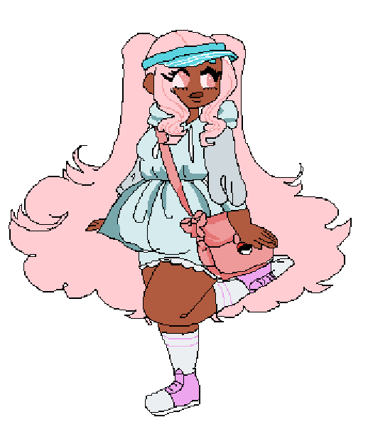 Cute Outdoors Girl