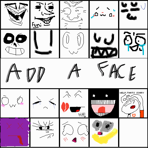 draww a face new