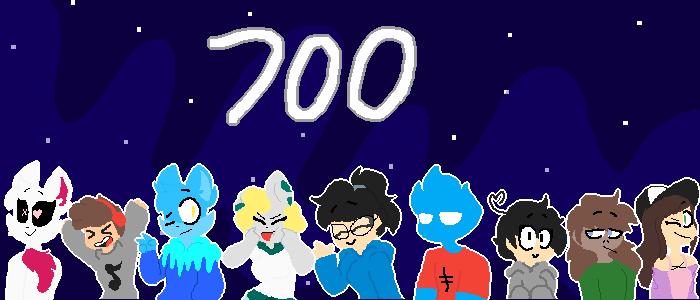 700 Followers!