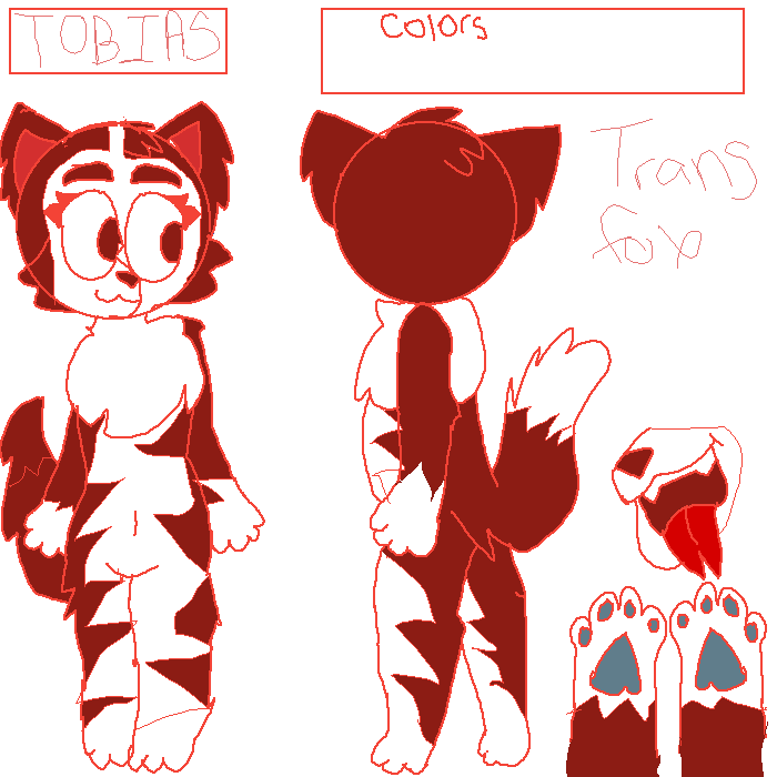Tobias my Trans-Gender Fur-sona