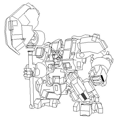 giant mech