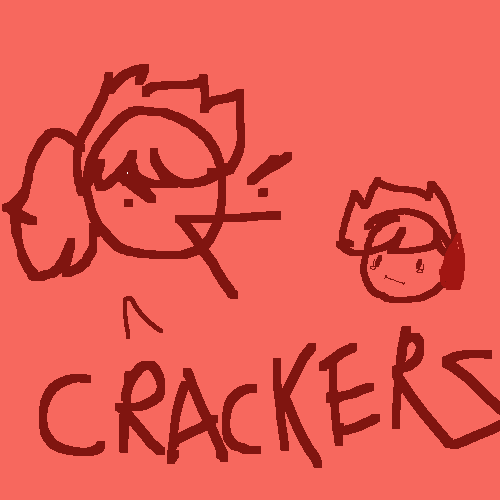 dont steal my crackers