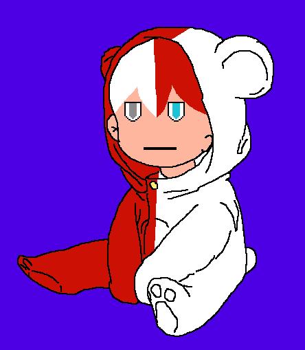 Lil baby Todoroki