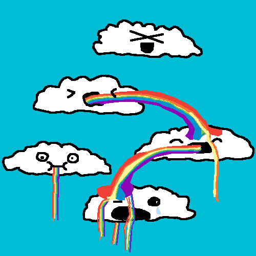 this is how rainbows are made