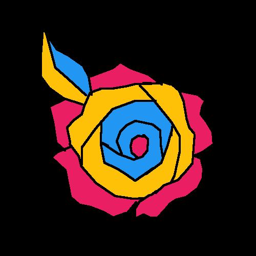 Pansexual Rose