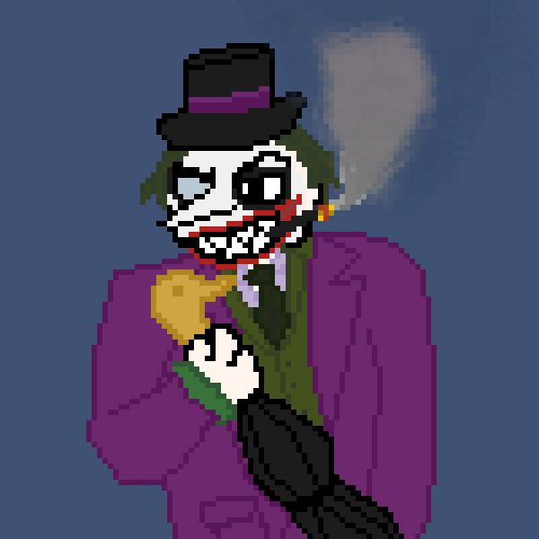 Poker (A mix of Penguin and Joker)