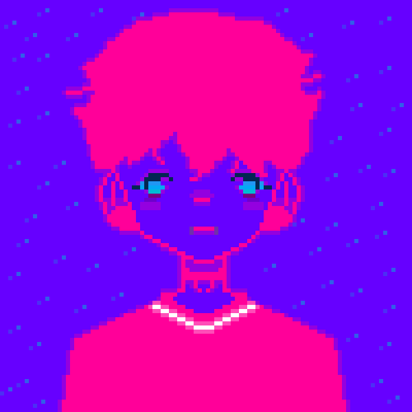 neon pink baby