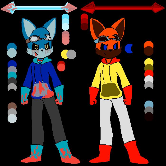 ArtAttack Alex character colors (LAST ONES)