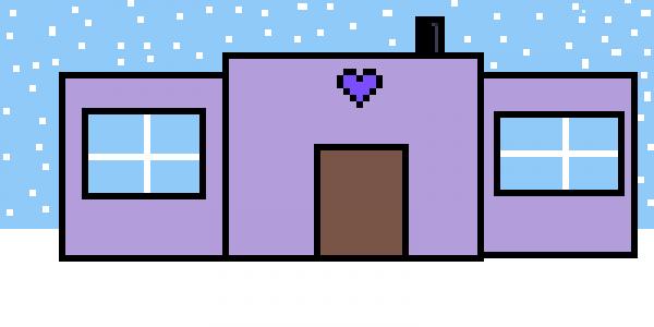 My winter wonderland house