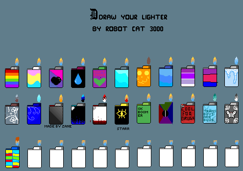 Color Your Lighters!