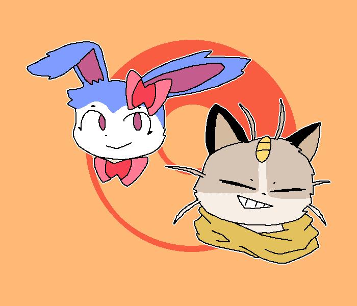 Friends as Pokemon