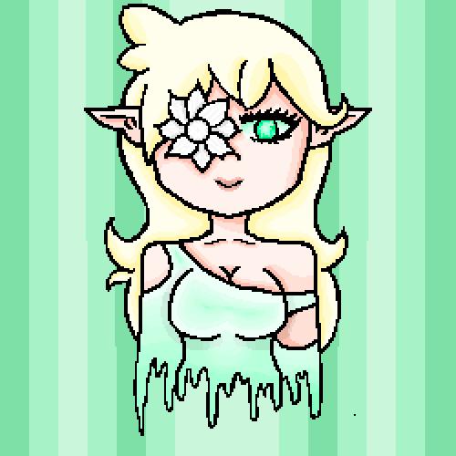 White Flower Elf