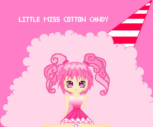 Little Miss Cotton Candy