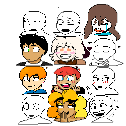 Collab Mines is the middle happy one :)